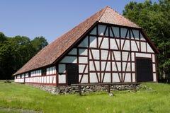 Half timbering barn Royalty Free Stock Image