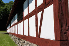 Half timbering barn Royalty Free Stock Photography