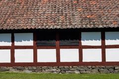 Half timbering barn Royalty Free Stock Images