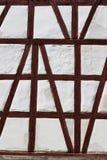Half timbering wall Stock Image