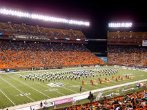 Half Time Show at Aloha Stadium Stock Photos