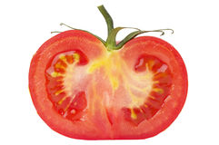 Half of tomato Stock Photo