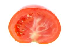 Half tomato Royalty Free Stock Photography