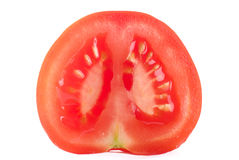 Half Tomato Stock Photography
