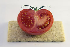 Half tomatoes Royalty Free Stock Photography
