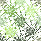 Half tone pattern with dots IN GREEN - Monochrome halftone texture Royalty Free Stock Photo