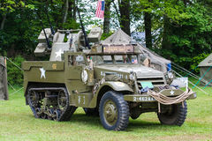 Half track m16 Stock Photography