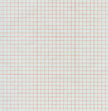 Half-transparent red graph paper Stock Image