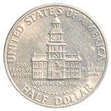 Half US Dollar coin Stock Photo