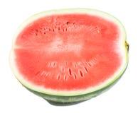 half vattenmelon royaltyfri foto