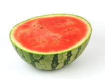 Half watermelon Stock Photo