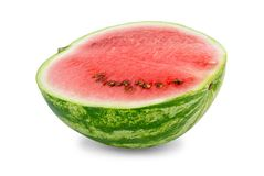 Half of watermelon Stock Images