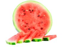 Half of watermelon Stock Photography