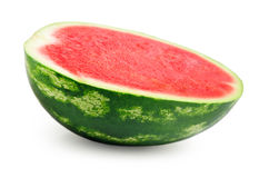 half of watermelon Stock Photo