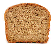 Half wheat bread round Stock Photography