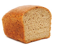 Half wheat bread round Stock Image