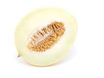 Half yellow melon Royalty Free Stock Photo