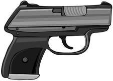 Halfautomatisch pistool Stock Afbeelding