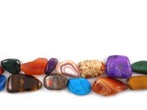 Halfedel stenen Royalty-vrije Stock Afbeelding