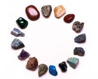Halfedelstenen en mineralen Stock Foto's