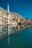 Halfeti. Sunken village Halfeti in Gaziantep Turkey Royalty Free Stock Images