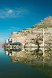 Halfeti. Sunken village Halfeti in Gaziantep Turkey Stock Photos