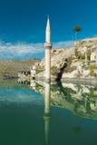 Halfeti. Sunken village Halfeti in Gaziantep Turkey Royalty Free Stock Photography