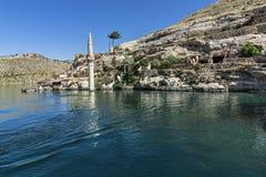 Halfeti es un distrito de la provincia de Şanlıurfa Rey del Assyria i foto de archivo