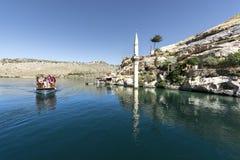 Halfeti ist ein Bezirk von Åžanlıurfa-Provinz König von Assyria I lizenzfreies stockbild