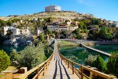 Halfeti village in Turkey royalty free stock photography