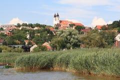 Halfisland Tihany, Ungern, år 2008 Royaltyfri Bild