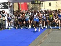 halfmarathon Πράγα στοκ εικόνα με δικαίωμα ελεύθερης χρήσης