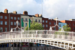 Halfpenny Bridge, Dublin Royalty Free Stock Images