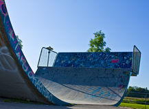 Halfpipe Stock Photo