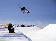 Halfpipe freestyle royalty free stock images
