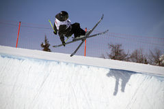 Halfpipe freestyle Royalty Free Stock Photo