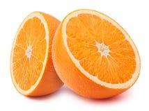 Halfs апельсина Стоковое фото RF