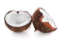 Halfs кокоса Стоковые Фотографии RF