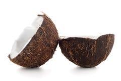 Halfs кокоса Стоковые Изображения