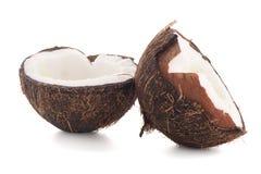 Halfs кокоса Стоковое Изображение