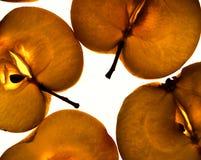 Halfs de Apple Foto de archivo libre de regalías