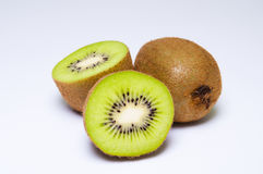 Halfs del kiwi Fotografía de archivo