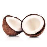 halfs wo кокоса Стоковые Изображения