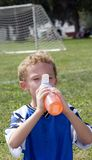 Halftime Drink Royalty Free Stock Photography