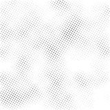 Halfton abstract background texture in vector. Halfton pattern, abstract background texture, vector overlay print, black and white grunge background Stock Photography
