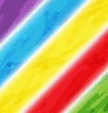Halfton del arco iris del fondo ilustración del vector