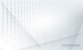 Halfton gray gradient background. Concept of  design. Halftone gray gradient background. Concept of  design. Decorative web layout or poster, banner, website Stock Photo
