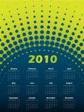 Halftone 2011 calendar Stock Image