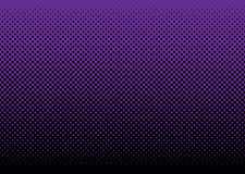 Halftone abstract background purple Stock Photography