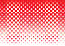 Halftone abstract background red Stock Photo